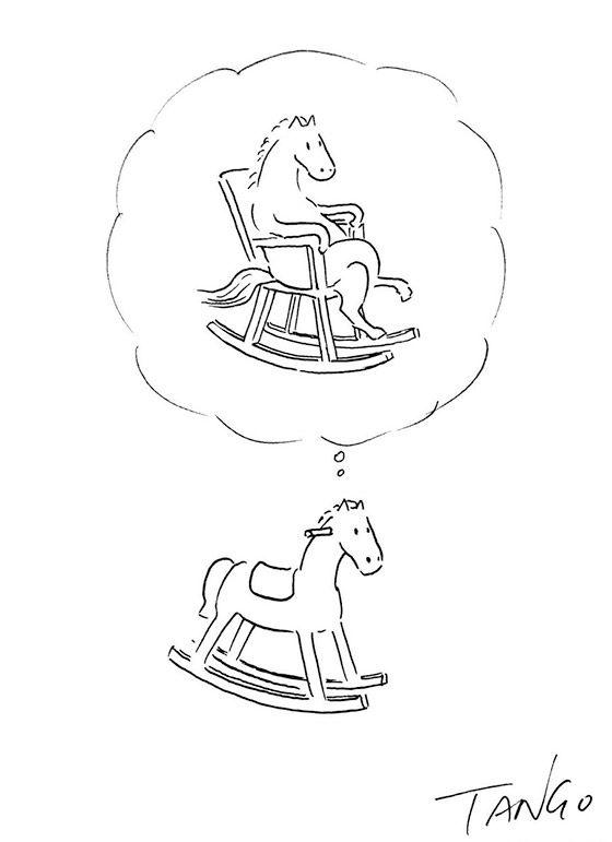 Ilustrações geniais usando só linha e preto e branco