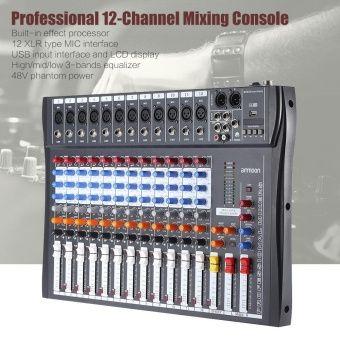 รีวิว สินค้า ammoon 120S-USB 12 Channels Mic Line Audio Mixer Mixing Console USB XLR Input 3-band EQ 48V Phantom Power with Power Adapter - intl ☄ ลดราคาจากเดิม ammoon 120S-USB 12 Channels Mic Line Audio Mixer Mixing Console USB XLR Input 3-band EQ 48V Phantom  จัดส่งฟรี | shopammoon 120S-USB 12 Channels Mic Line Audio Mixer Mixing Console USB XLR Input 3-band EQ 48V Phantom Power with Power Adapter - intl  รับส่วนลด คลิ๊ก : http://online.thprice.us/eJNtb    คุณกำลังต้องการ ammoon 120S-USB…
