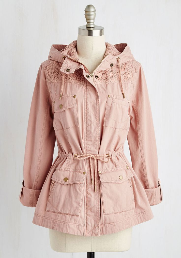 All That and Outdoor Jacket. Is there a way to encompass your feminine flair with adventurous appeal? #blush #modcloth