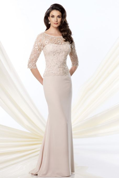 Montage by Mon Cheri - 214948 - Mother of the Bride Dress
