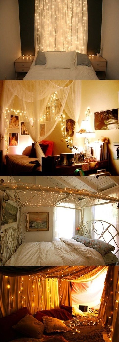 i am obessed with lights... i would die if these were in my room!                                                                                                                                                     More