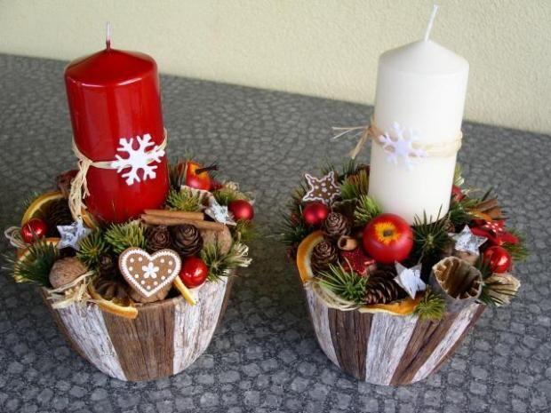 Adventné medovníkové svietniky. Autorka: Tina. Vianoce, advent:) Artmama.sk
