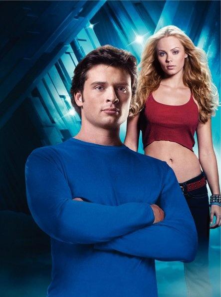 thomas john patrick welling (clark kent / kal-el / superman) / laura diane vandervoort (kara kent / kara zor-el / supergirl) - smallville (season 7)