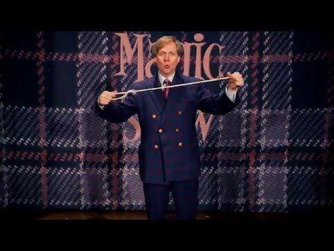 Фокусник Мак Кинг, покоривший Лас-Вегас, показывает захватывающие трюки сверевкой