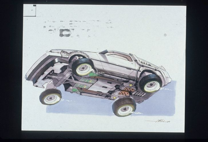 Back To The Future II concept drawings - photo 12
