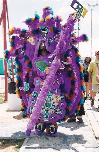 Mardi Gras New Orleans and the Mardi Gras Indians: Click here for Mardi Gras Information and Parade Schedule.