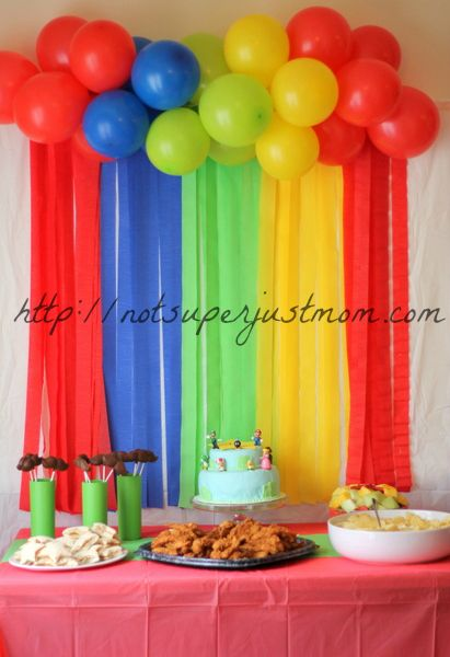 Super Mario Super Birthday Party