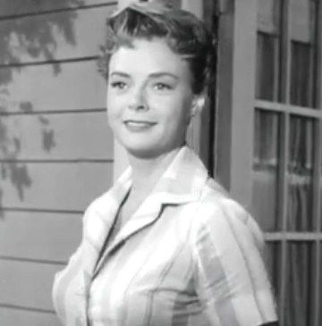 June Lockhart as Timmy's mom on Lassie