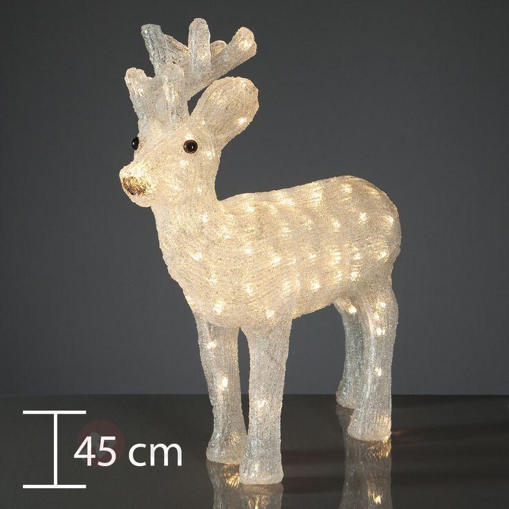 Schönes LED-Rentier in verschiedenen Größen sicher & bequem online bestellen bei Lampenwelt.de.