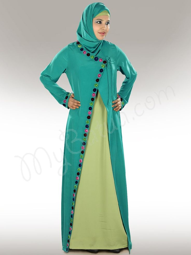 Nada Colorful Abaya Dubai, Traditional Muslim Women ...
