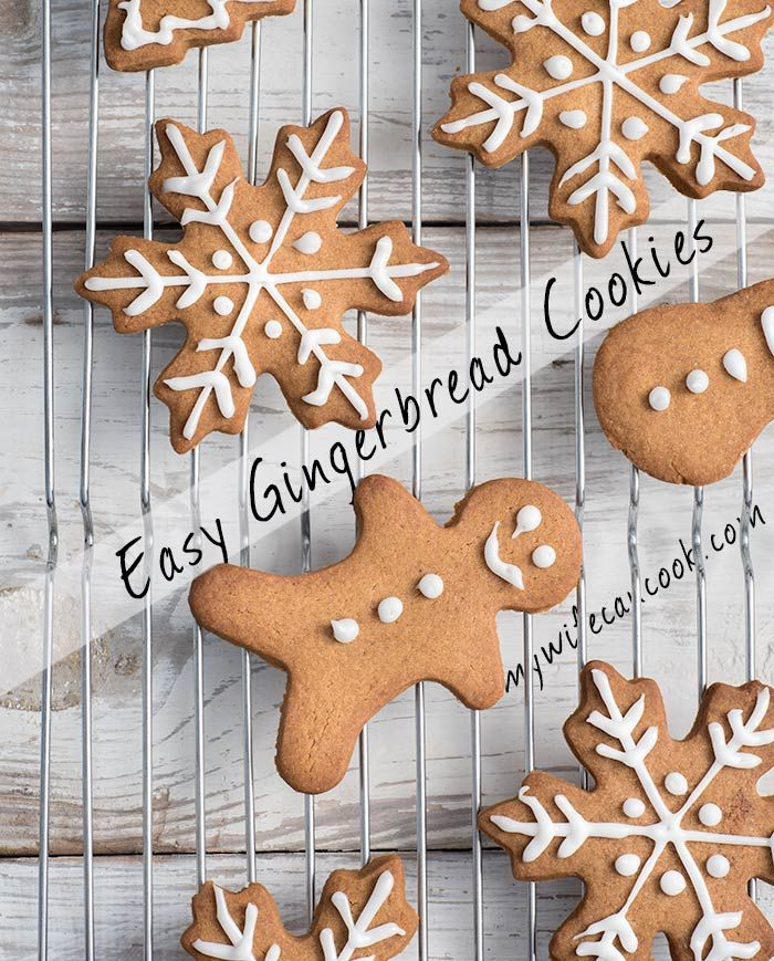 Gingerbread cookies are pretty popular in our house, especially around the holidays. So this easy gingerbread cookie recipe gets a lot use in our house. Our kids love rolling out the gingerbread dough and using lots of different cookie cutter shapes, from classic gingerbread men to holiday favorites like gingerbread trees and gingerbread reindeer cookies. And then, decorating the cookies is best part. Give these gingerbread cookies a try for your next batch of holiday cookies and family fun.