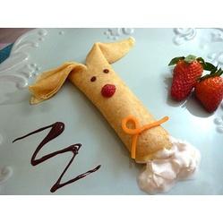 Bunny Crepes for Easter Dessert or Easter Breakfast  #Easter #Breakfast Ideas