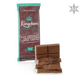 Tableta de Ciocolata Milk Chocolate and Cappuccino Coffee #montezumas #monkeybars #ciocolata #cappuccino #coffee #cafea #dulciuri #cadouri #ideicadouri