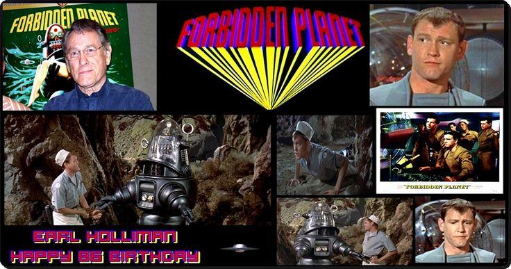 "Earl Holliman ""Forbidden Planet"" //  Happy 86 birthday"