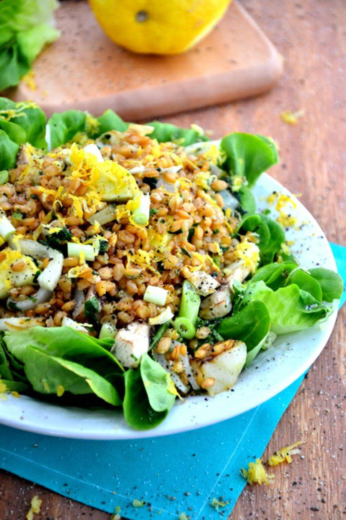 Best 25 salade verte compos e ideas on pinterest salade compos e t salades d 39 t and - Salade originale ete ...