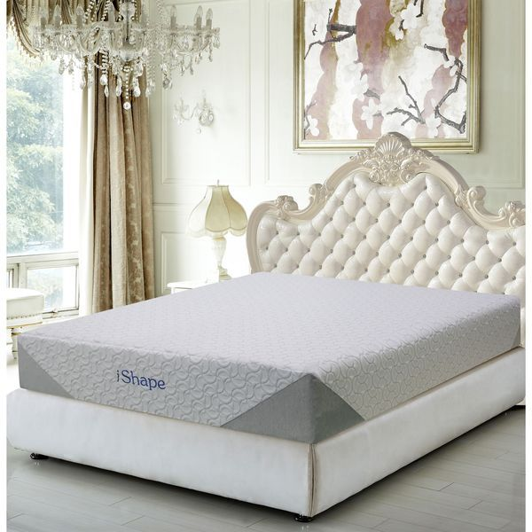 Enjoy the most restful night's sleep with the Jasmine 10-inch mattress by iShape. Cutting edge design and top quality materials at an affordable price is what sets iShape apart from the rest. Dimensio