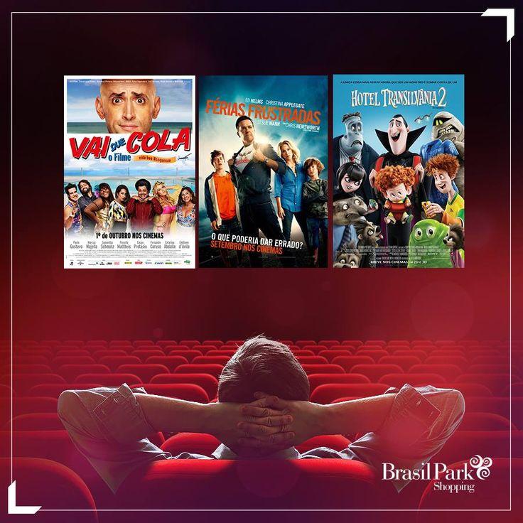 Que tal pegar um cineminha hoje ao lado do seu filhão?   Traga os pequenos para assistir as nossas estreias!  http://www.brasilparkshopping.com.br/cinema