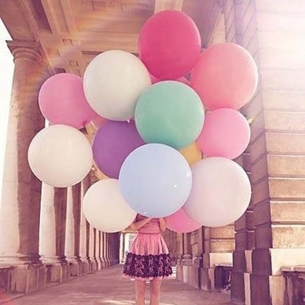 5pcs/lot 36 Inch Super Big Large Wedding Decoration Birthday Party Ballons Thickening Multicolor Latex giant huge Balloon #Affiliate