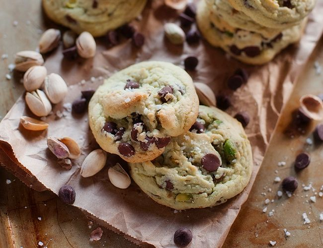 de chips de chocolate con pistacho: «Pistachio Dark Chocolate ...