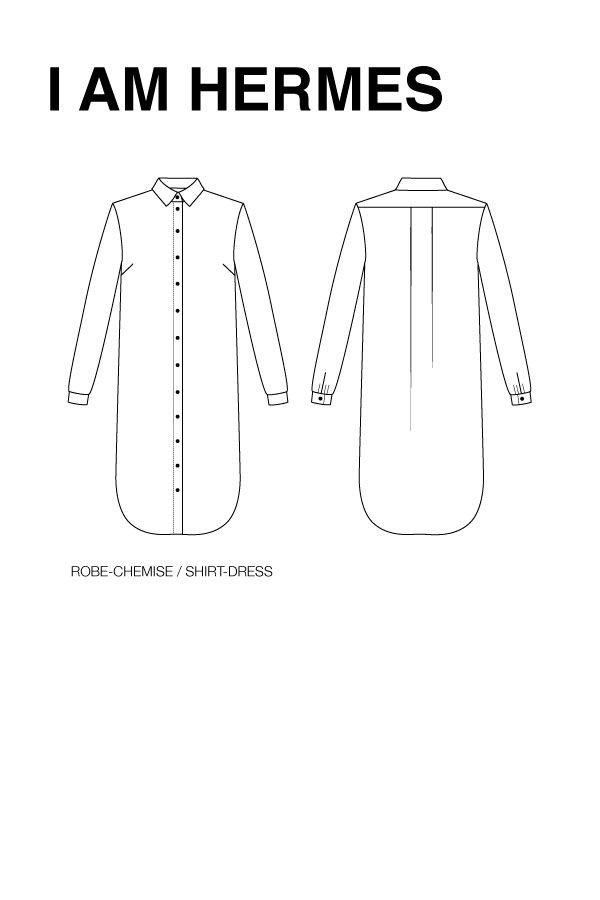 Epingle Sur Couture Chemise