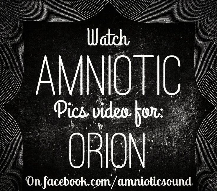 AMNIOTIC ~ ORION ~ #CommunicationalPic Watch & Listen the Pics video of #amniotic #new #song ON: facebook.com/amnioticsound Help the #amnioticsound be heard & known webwide! CREDITS: Video collage made with #flipagram @Flipagram App - Communication Pic made with #Vanillapen @vanillapenapp TAGS: #ORION #MusicForCyborgs #amnioticmusic #amnioticofficial #facebook #video #sequence #selfpromotion #SpaceElectronica #SpaceDanceMusic #SDM #SpaceElectronicMusic #SEM (All Rights Reserved AMNIOTIC…