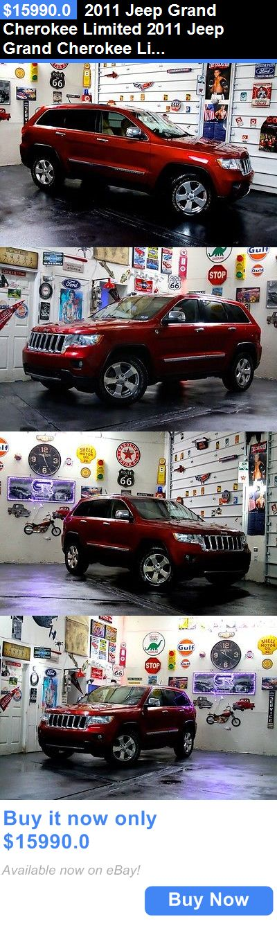 SUVs: 2011 Jeep Grand Cherokee Limited 2011 Jeep Grand Cherokee Limited 107871 Miles Inferno Red Crystal Pearl Suv 8 Au BUY IT NOW ONLY: $15990.0