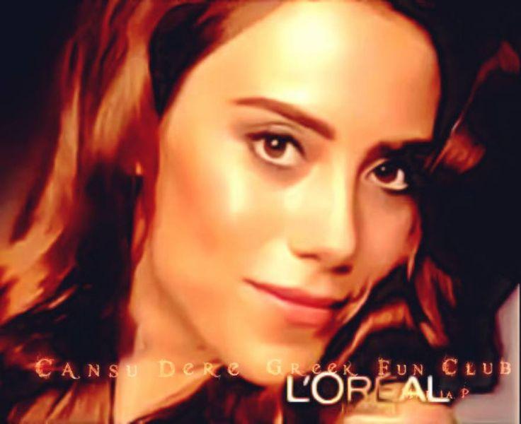 Portraits of #CansuDere L'Oréal 2012