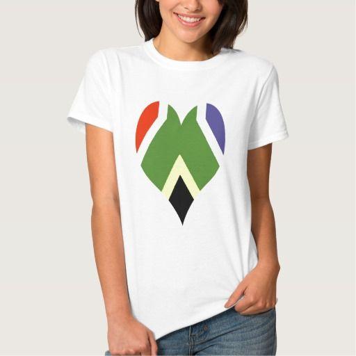 South African flag tshirt