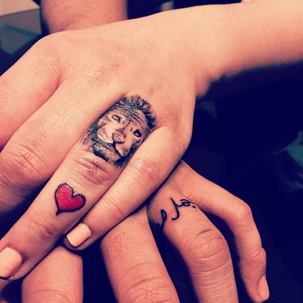 69 best Wedding Ring Tattoo images on Pinterest