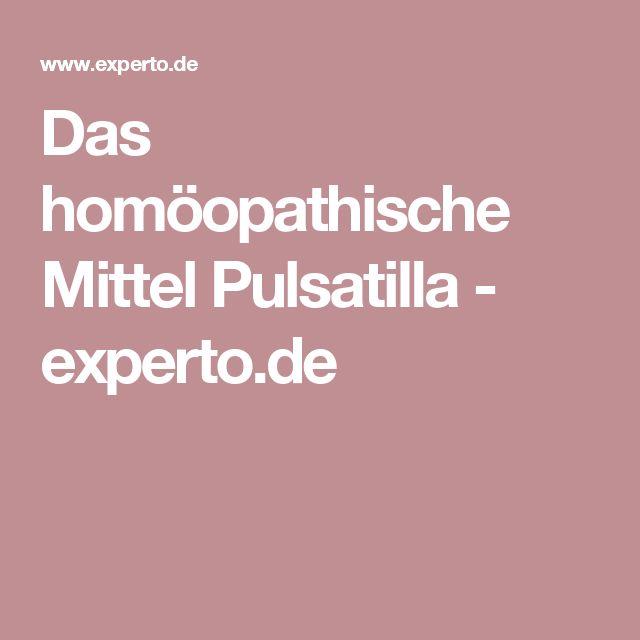 Das homöopathische Mittel Pulsatilla - experto.de