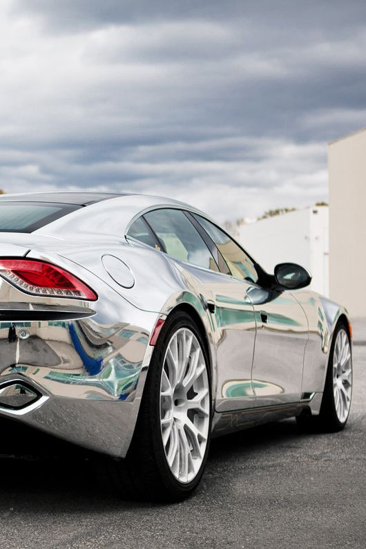 Justin Bieber's Chrome Fisker Karma - Hot or Not? Click to check out…