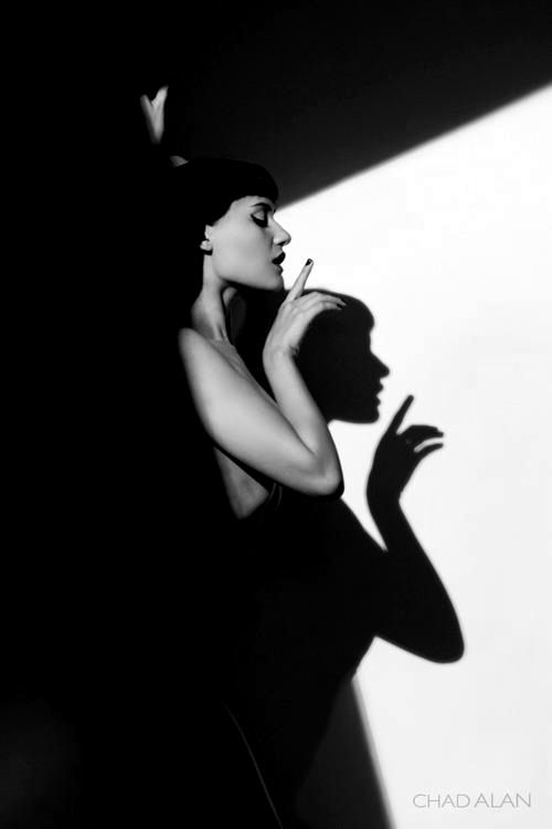 When the shadow extends the gesture // Chad Alan Model: Rivi Madison