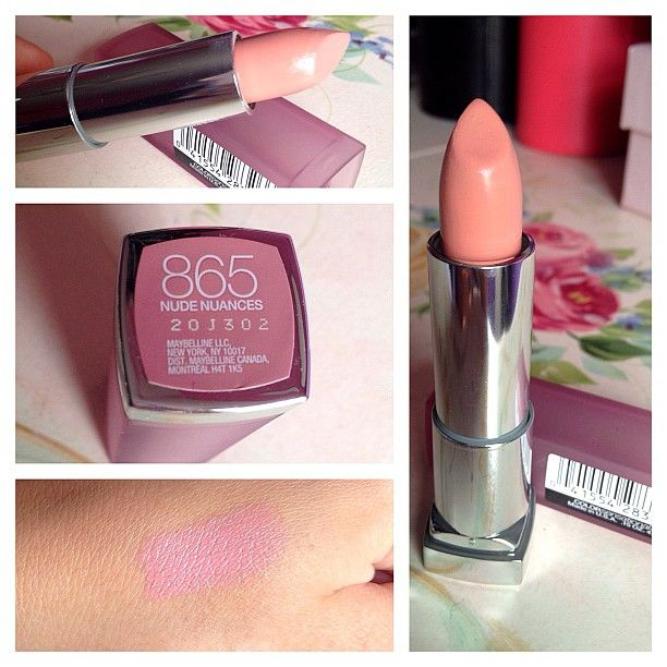 "Maybelline Nude Nuances Lipstick...Dupe for MAC ""Hue"""