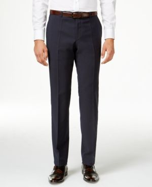 Hugo by Hugo Boss Men's Navy Extra Slim-Fit Pants - Blue 34R