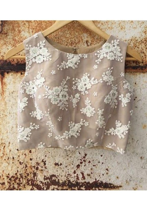 The Peach Project - Beige Princess Blouse