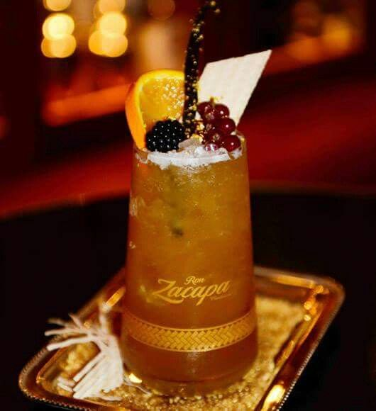 Milano Cocktail Bar Zacapa Nectar px Polpa maracuja Succo lime Marmellata arancia Essenza vaniglia