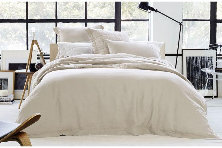 Sheridan Abbotson Linen Tailored Quilt Cover