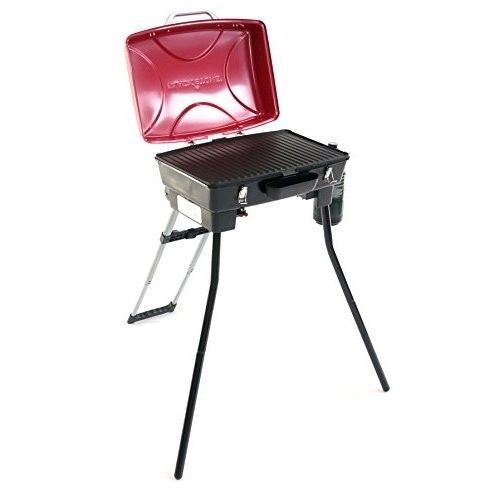 Portable Gas BBQ Grill Griddle Combo Outdoor Yard Tailgate Camping Patio Propane #Blackstone