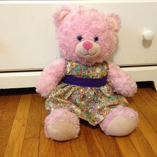 This past week I got to looking around for teddy bear dress patterns for my daughter's bear. We have cute scrap fabric and I thought it can'...