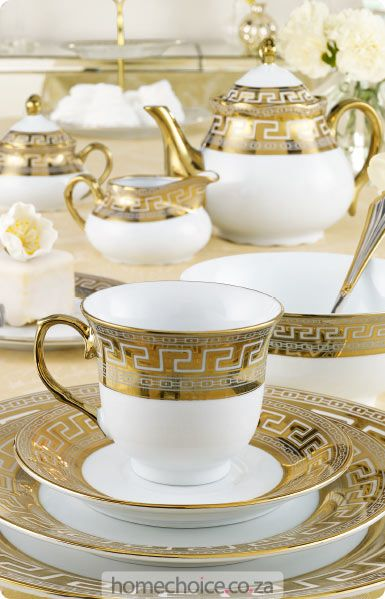 Ritz dinnerware set http://www.homechoice.co.za/Kitchen/Crockery/Ritz.aspx
