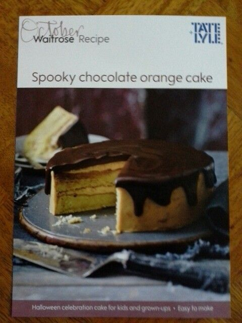 Day 52 - Waitrose shopping with £10 voucher. Ready to bake this cake now - yum yum