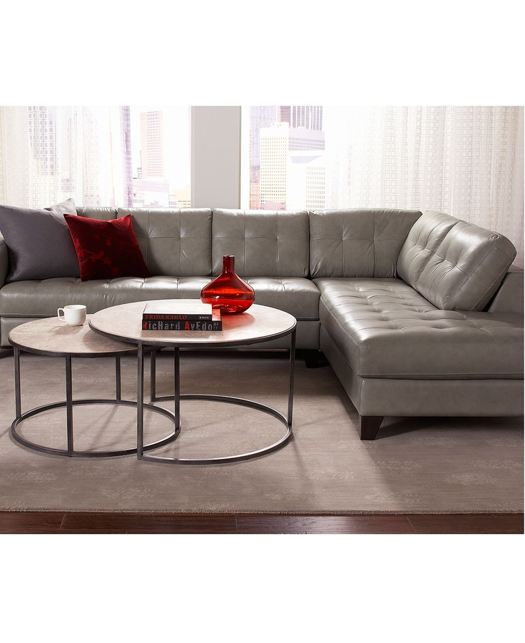 27 best Sectionals images on Pinterest | Leather sectional sofas ...