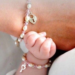 Kraamcadeau moeder en dochter armband #kayasieraden