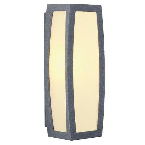 The #Aluminum made #MERIDIAN #BOX #WALL #LAMP is available in different #Colours #BigLivingUK http://www.bigliving.co.uk/lights/outdoor-lighting/outdoor-wall-lights/meridian-box-wall-lamp-anthracite-e27-max-20w-with-motion-detector.html
