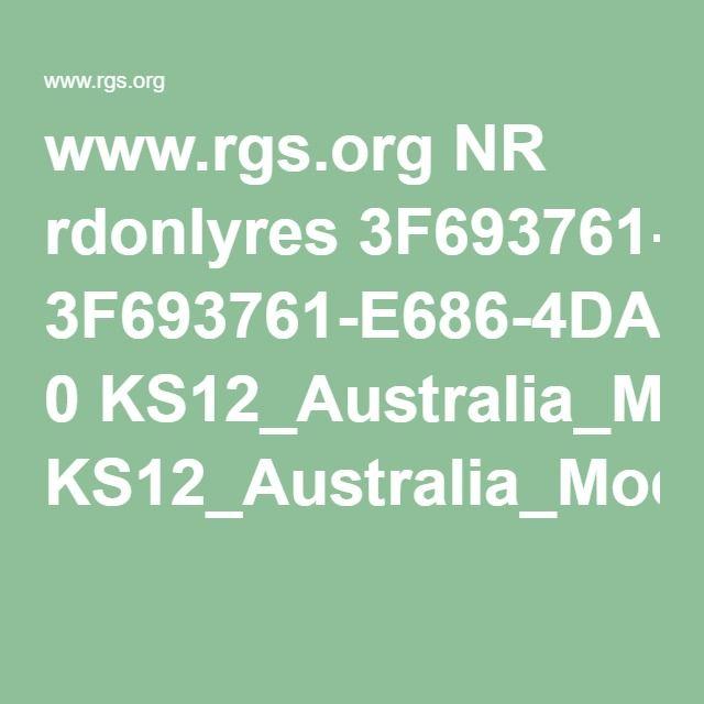www.rgs.org NR rdonlyres 3F693761-E686-4DA9-B7E0-39770AD5314A 0 KS12_Australia_ModuleOverview.pdf
