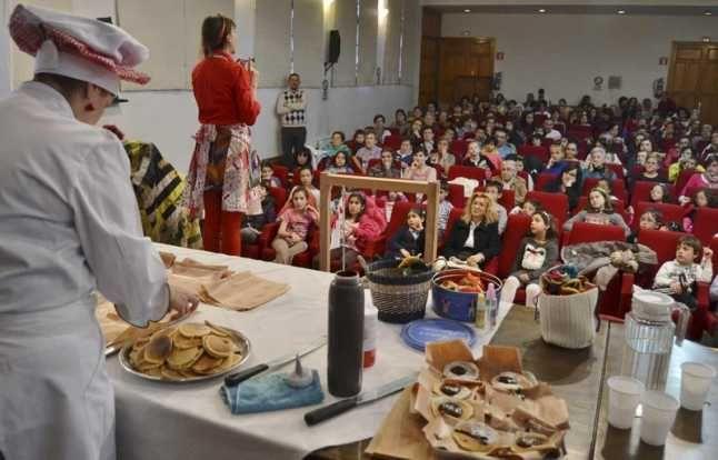 El programa «Cocinando cuentos» activa el gusto en La Encomienda - La Opinión de Zamora