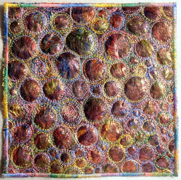 Angelina Fibers Tutorial | Carré 20 X 20 cm en Fibres Angelina
