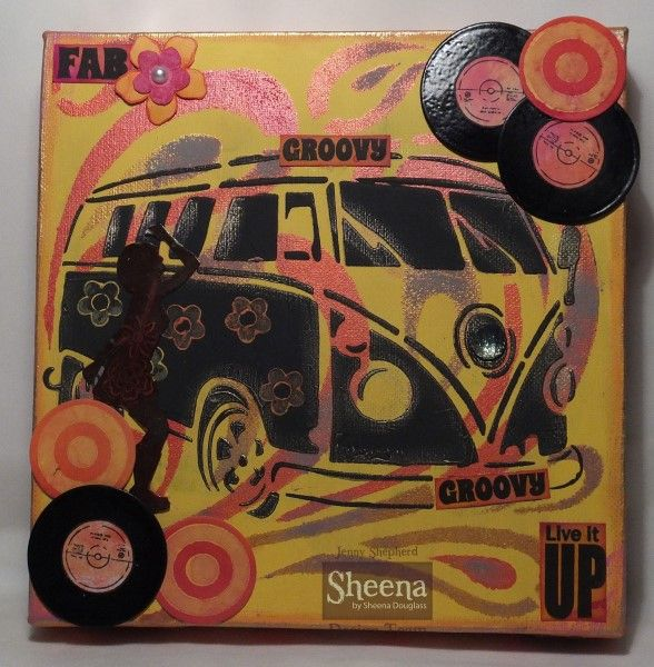 Groovin' 60s - Sheena Douglass - Gallery