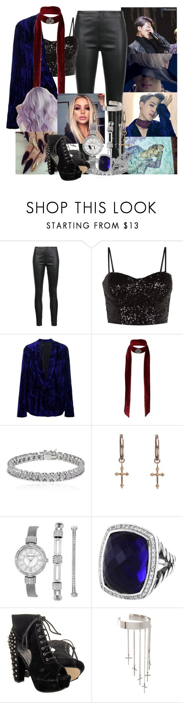 """Blood, Sweat and Tears Female BTS - Jimin"" by elliepetkova ❤ liked on Polyvore featuring Veronica Beard, Haider Ackermann, Miss Selfridge, Apples & Figs, Rachel Entwistle, Anne Klein, David Yurman and ASOS"