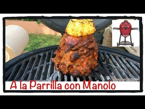 TACOS AL PASTOR, carne al pastor, receta #94, - YouTube
